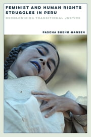 Feminist and Human Rights Struggles in Peru - Decolonizing Transitional Justice ebook by Pascha Bueno-Hansen