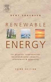 Renewable Energy ebook by Bent Sorensen (Sorensen)