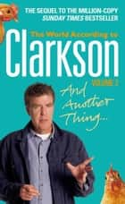 And Another Thing ebook by Jeremy Clarkson