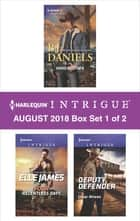 Harlequin Intrigue September 2018 - Box Set 1 of 2 - Hard Rustler\Four Relentless Days\Deputy Defender ebook by B.J. Daniels, Elle James, Cindi Myers