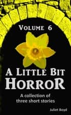 A Little Bit Horror, Volume 6: A collection of three short stories ebook by Juliet Boyd