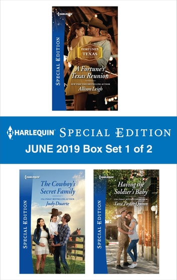 Harlequin Special Edition June 2019 - Box Set 1 of 2 ekitaplar by Allison Leigh,Judy Duarte,Tara Taylor Quinn
