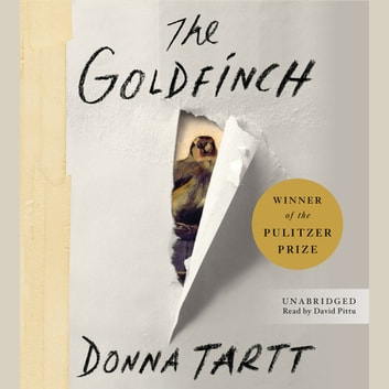 The Goldfinch - A Novel (Pulitzer Prize for Fiction) luisterboek by Donna Tartt