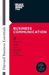 Business Communication ebook by Harvard Business School Press