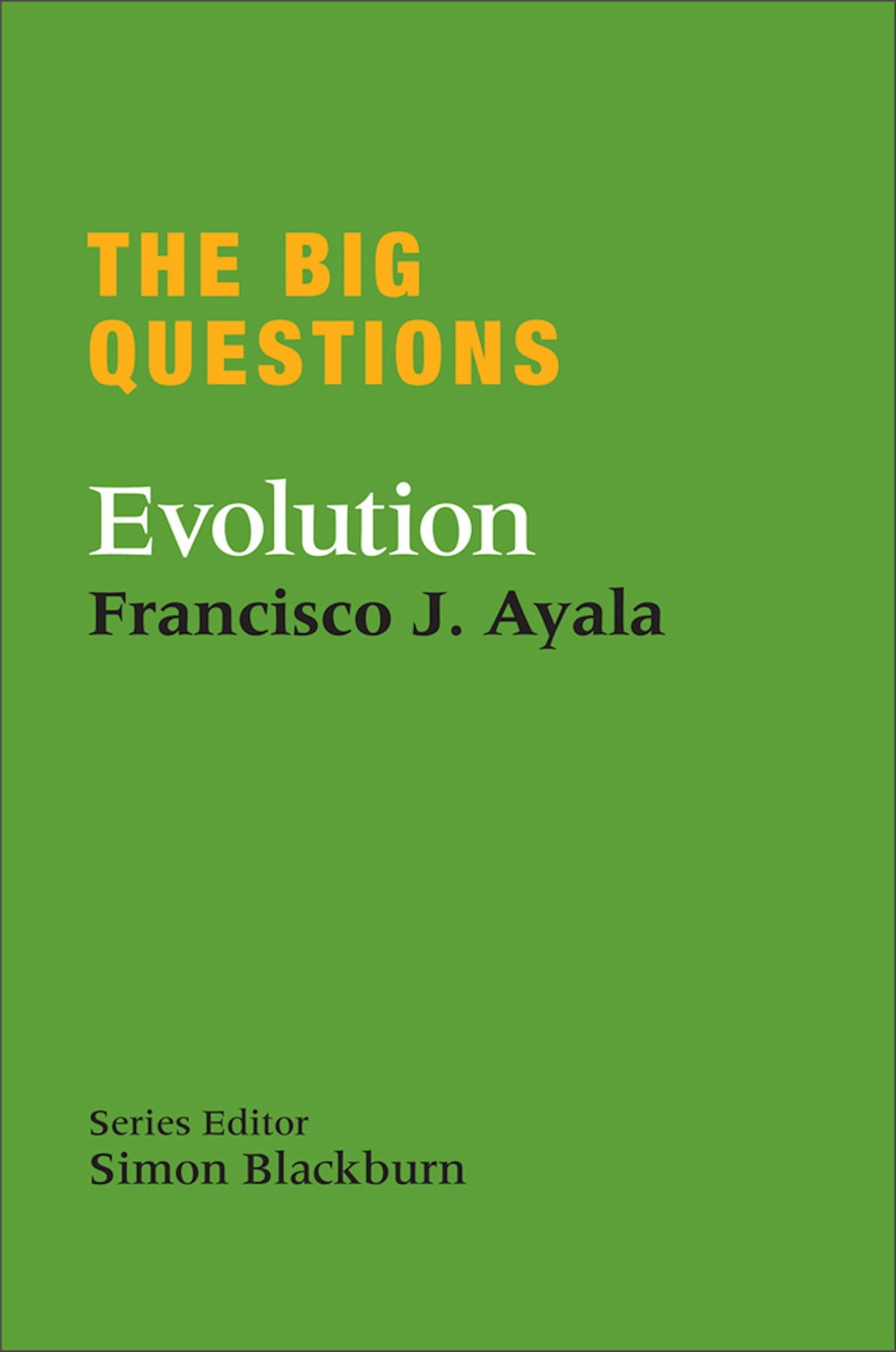 evolution questions After reading evolution and the big questions, my respect for stamos has been reaffirmed it is clear, it gets to the point and offers many evolutionary viewpoints on the subjects at hand (which include religion, knowledge, sexuality and race.