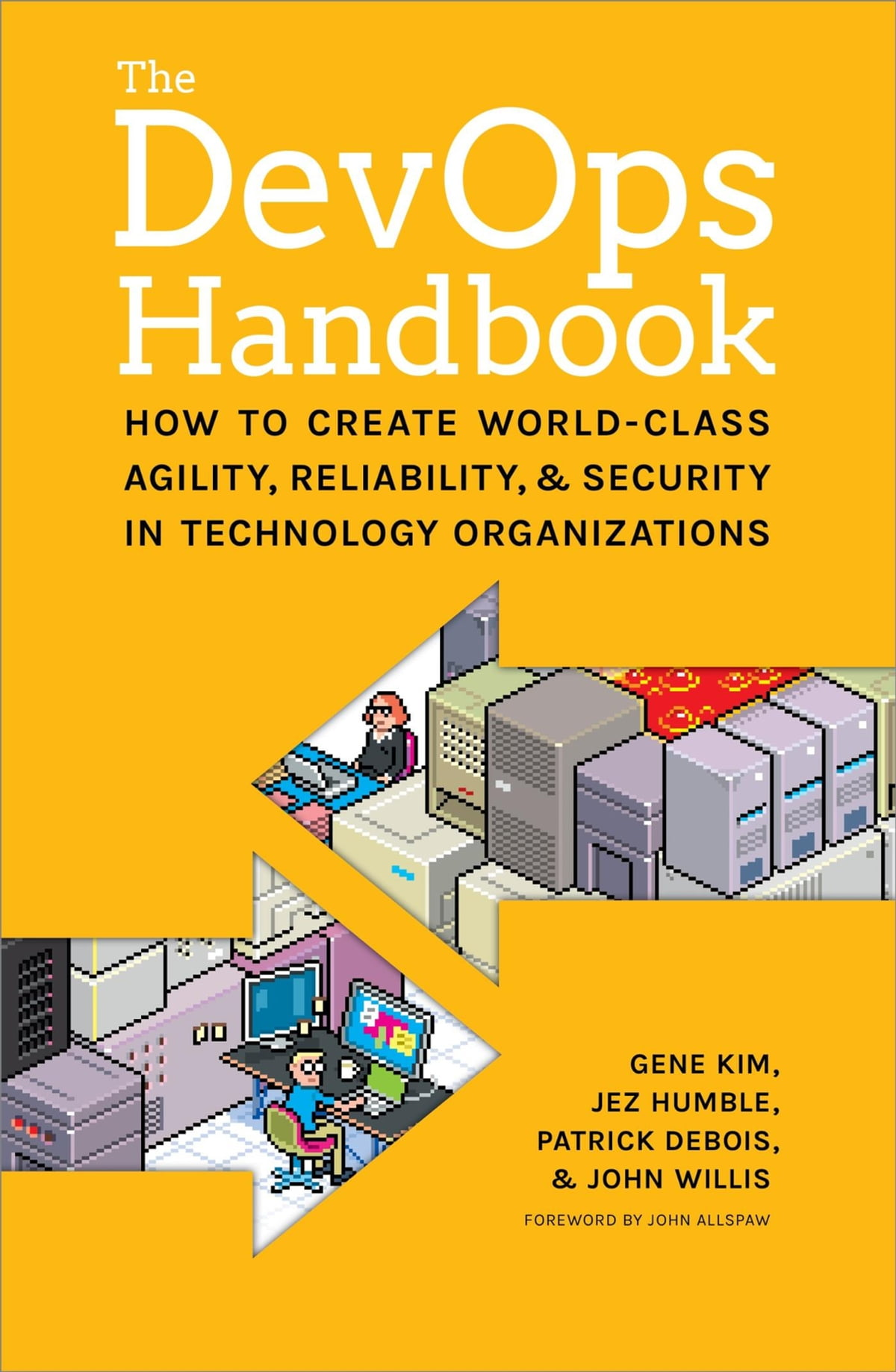 The Devops Handbook  How To Create Worldclass Agility, Reliability, And  Security