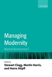 Managing Modernity - Beyond Bureaucracy? ebook by