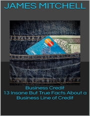 Business Credit: 13 Insane But True Facts About a Business Line of Credit ebook by James Mitchell