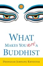 What Makes You Not a Buddhist ebook by Dzongsar Jamyang Khyentse