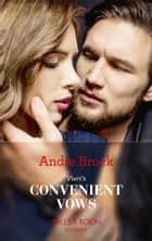 Vieri's Convenient Vows (Mills & Boon Modern) ebook by Andie Brock