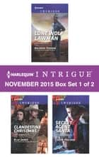 Harlequin Intrigue November 2015 - Box Set 1 of 2 ebook by Delores Fossen,Elle James,Carol Ericson