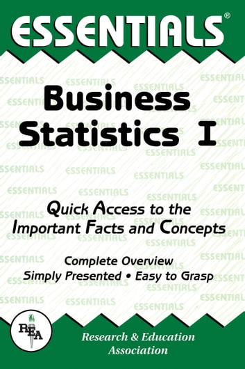 Business Statistics I Essentials ebook by Louise Clark