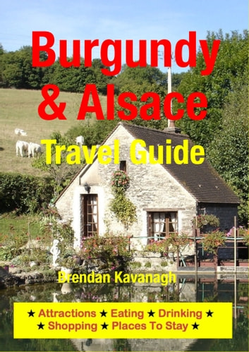 Burgundy & Alsace Travel Guide - Attractions, Eating, Drinking, Shopping & Places To Stay ebook by Brendan Kavanagh