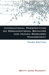 International Perspectives on Organizational Behavior and Human Resource Management ebook by Betty Jane Punnett