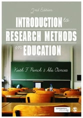 Introduction to Research Methods in Education ebook by Dr. Alis E. Oancea,Keith F Punch