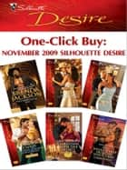 One-Click Buy: November 2009 Silhouette Desire ebook by