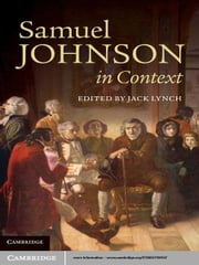 Samuel Johnson in Context ebook by Jack Lynch