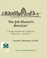 Job Hunter's KwicList ebook by Donald L. Wineman
