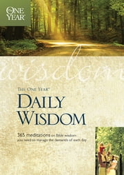 The One Year Daily Wisdom ebook by Livingstone,Neil Wilson