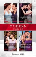 Modern Box Set 5-8/Carrying the Sheikh's Baby/Awakening His Innocent Cinderella/The Tycoon's Shock Heir/One Night with the Forbidden Princes ebook by Natalie Anderson, Heidi Rice, Bella Frances,...
