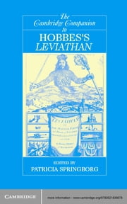 The Cambridge Companion to Hobbes'sLeviathan ebook by Patricia Springborg