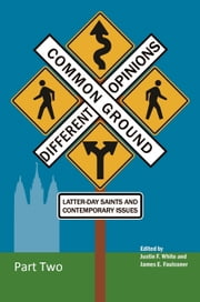 Common Ground—Different Opinions: Latter-day Saints and Contemporary Issues (Part Two) ebook by Justin F. White,James E. Faulconer