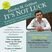 The Goal - A Process of Ongoing Improvement - 30th Aniversary Edition audiobook by Eliyahu M. Goldratt, Jeff Cox
