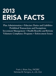 ERISA Facts ebook by Frank J. Bitzer,Nicholas W. Ferrigno