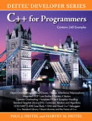 C++ for Programmers ebook by Harvey M. Deitel,Paul Deitel