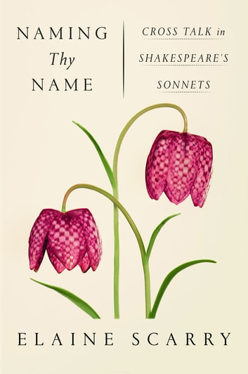 Naming Thy Name - Cross Talk in Shakespeare's Sonnets ebook by Elaine Scarry