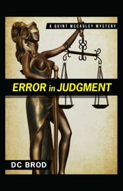 Error in Judgment ebook by DC Brod