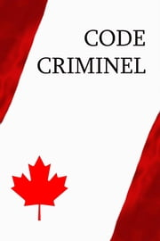Code criminel ebook by Canada