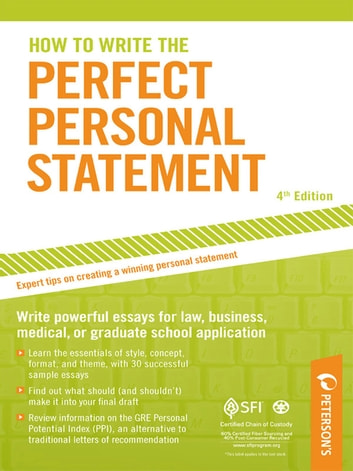 How To Write The Perfect Personal Statement Ebook By Mark Alan  How To Write The Perfect Personal Statement Ebook By Mark Alan Stewart