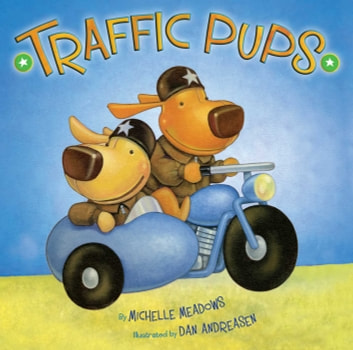 Traffic Pups ebook by Michelle Meadows