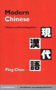 Modern Chinese ebook by Chen, Ping