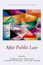 After Public Law ebook by Cormac Mac Amhlaigh,Claudio Michelon,Neil Walker