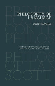 Philosophy of Language ebook by Scott Soames