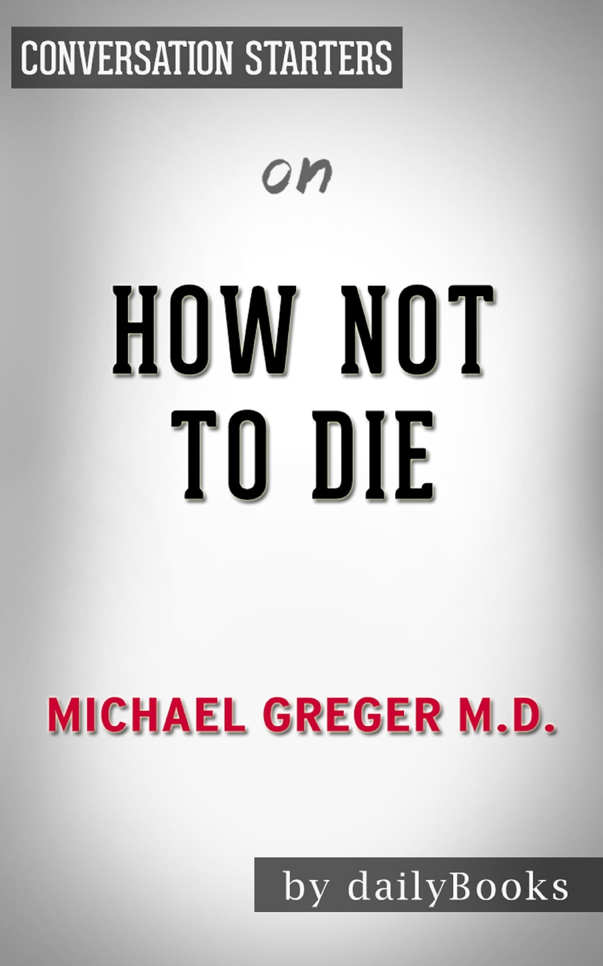how not to die michael greger download epub