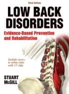 Low Back Disorders 3rd Edition ebook by McGill, Stuart M.