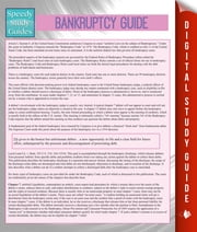 Bankruptcy Guide (Speedy Study Guides) ebook by Speedy Publishing