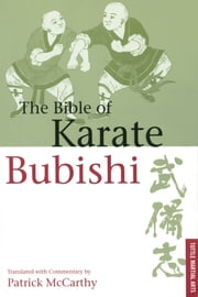 Bible of Karate Bubishi ebook by Patrick McCarthy