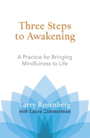Three Steps to Awakening - A Practice for Bringing Mindfulness to Life ebook by Larry Rosenberg,Laura Zimmerman