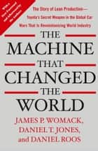 The Machine That Changed the World ebook by James P. Womack,Daniel T. Jones,Daniel Roos