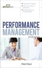 Performance Management 2/E ebook by Robert Bacal