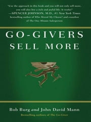 Go-Givers Sell More ebook by Bob Burg,John David Mann
