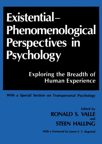 an overview of the humanistic existential perspective in psychology