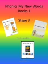 Phonics My New Words Books 1 ebook by Ian Mitch