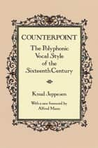 Counterpoint ebook by Knud Jeppesen