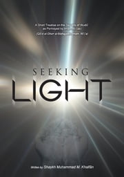 Seeking Light- A short treatise on the secrets of Wudhu as potrayed by Imam Ali (a.s) ebook by Sheikh Muhammed Khalfan