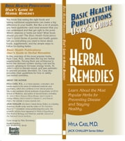 User's Herbal Remedies ebook by Hyla Cass MD
